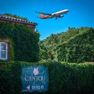 Le Cantou, restaurant au pied des pistes d'atterrissage