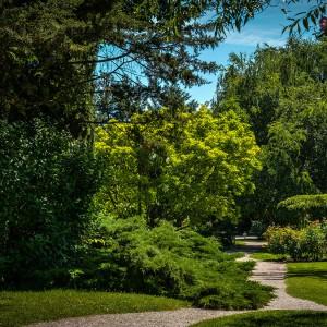 Découvrez le magnifique parc fleuri et arboré